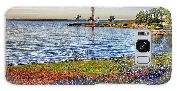 Spring Wildflowers Of Lake Buchanan Galaxy Case