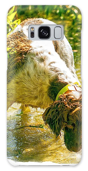 Springer Spaniel Field Galaxy Case by Constantine Gregory