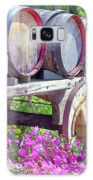 Springtime At V Sattui Winery St Helena California Galaxy Case