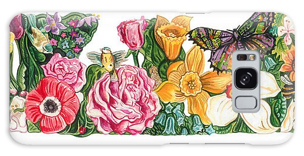 Springtime Flowers Galaxy Case by John Keaton