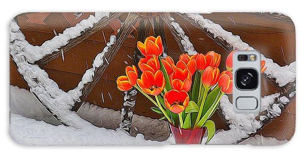 Springtime In Colorado Galaxy Case