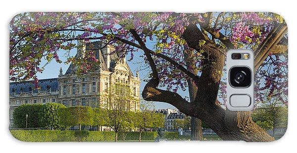 Springtime In Paris Galaxy Case