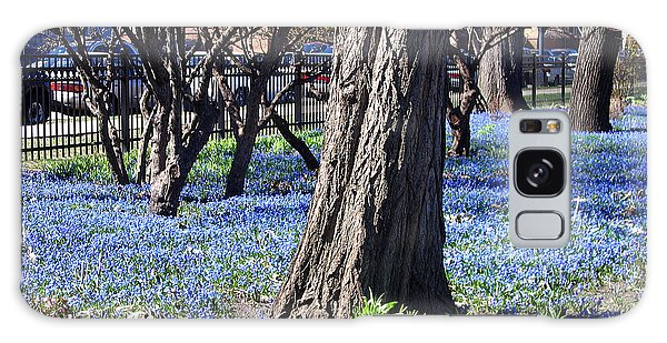 Springtime In The City Galaxy Case