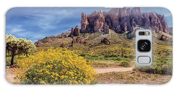 Springtime In The Superstition Mountains Galaxy Case