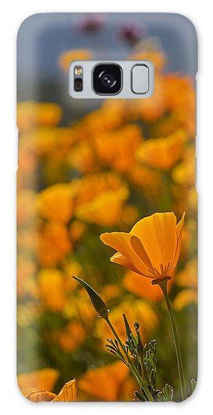 Springtime Poppies Galaxy Case