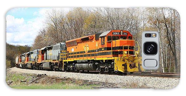 Springtime Train Galaxy Case