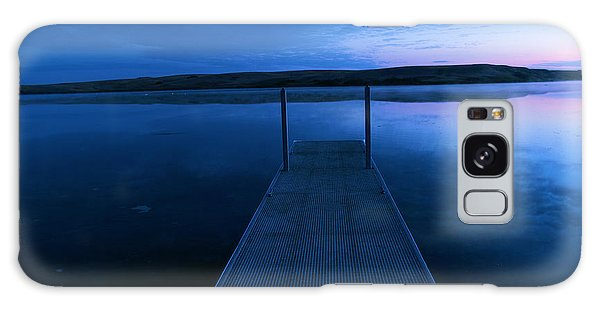 Swan Boats Galaxy Case - Springbrook Lake At Dawn by Jeff Swan