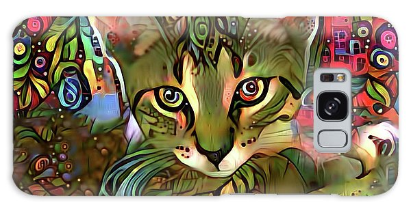Sprocket The Tabby Kitten Galaxy Case