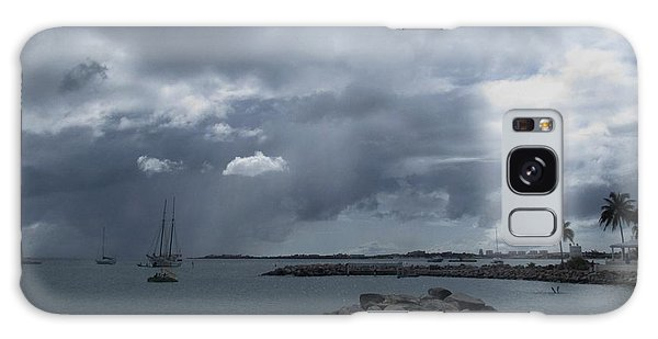 Squall In Simpson Bay St Maarten Galaxy Case