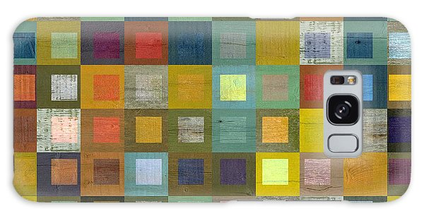 Squares In Squares Five Galaxy Case by Michelle Calkins