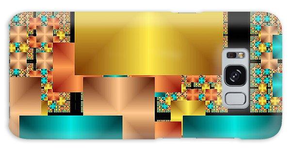 Squares Galaxy Case