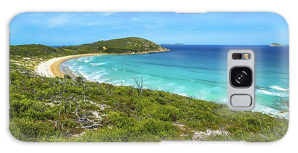 Wilsons Promontory Galaxy Case - Squeaky Beach Victoria by Benny Marty