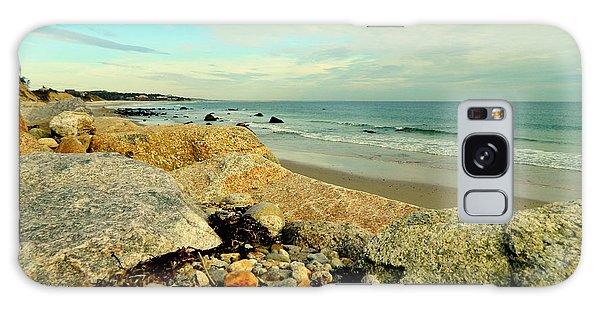 Squibby Cliffs And Mackerel Sky Galaxy Case