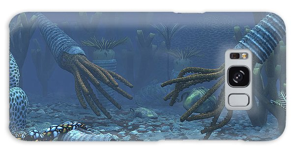 Sea Lily Galaxy Case - Squid-like Orthoceratites Attempt by Walter Myers
