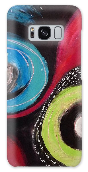 Squiggles And Wiggles   Galaxy Case by Suzzanna Frank