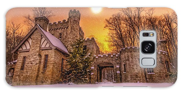Squires Castle In The Winter Galaxy Case by Brent Durken