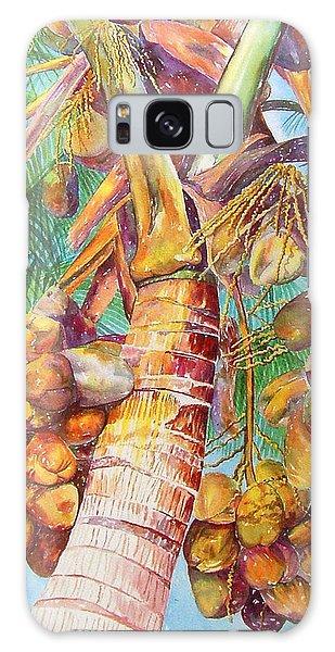Squire's Coconuts Galaxy Case by AnnaJo Vahle