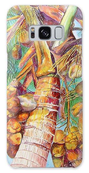 Squire's Coconuts Galaxy Case