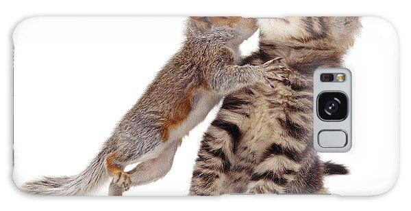 Squirrel Kiss Galaxy Case