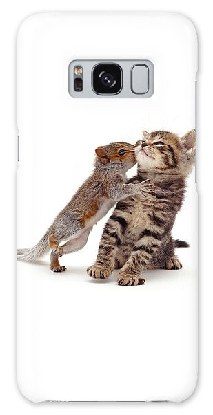 Squirrel Kiss Galaxy Case