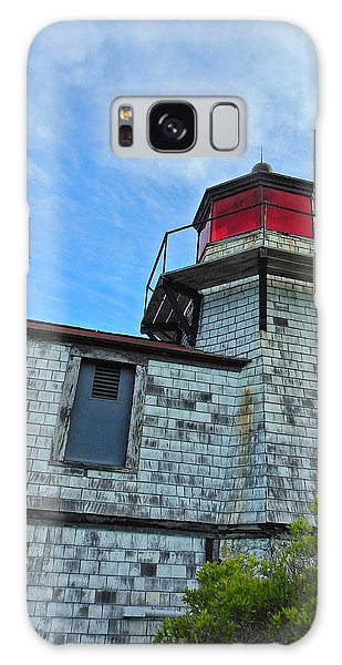 Squirrel Point Lighthouse Galaxy Case