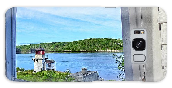 Squirrel Point View From The Deck Galaxy Case