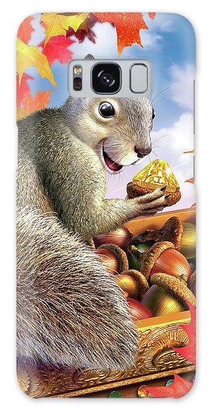 Jewels Galaxy Case - Squirrel Treasure by Jerry LoFaro