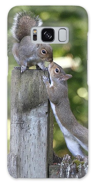 Squirrelly Affection Galaxy Case