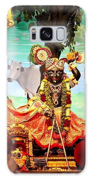 Sri Nath Ji, Radha Gopinath Mandir, Mumbai Galaxy Case by Jennifer Mazzucco