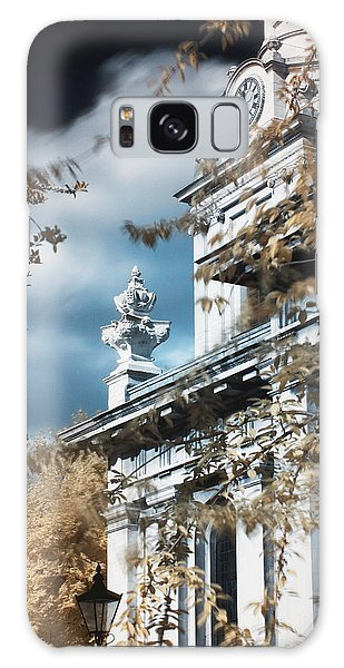 St Alfege Parish Church In Greenwich, London Galaxy Case