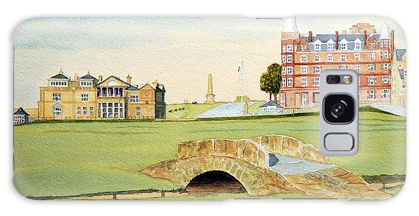 St Andrews Golf Course Scotland Classic View Galaxy Case