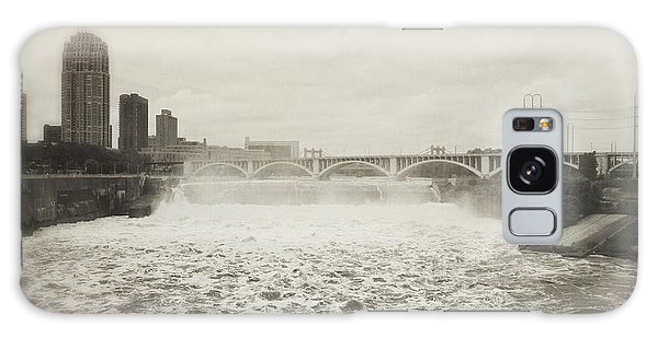St. Anthony Falls In Spring Galaxy Case