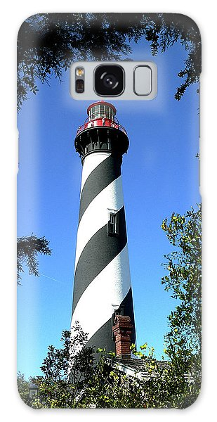 St. Augustine Light Tower Galaxy Case