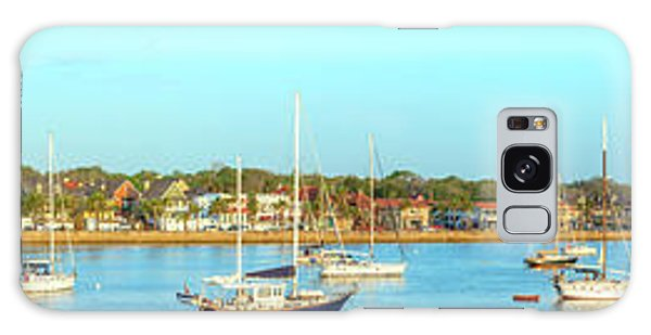St Augustine Panorama Galaxy Case by Sebastian Musial