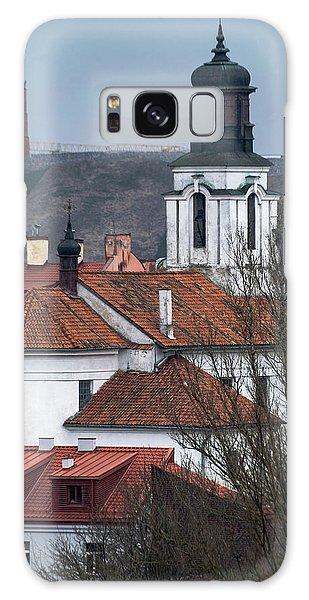 Galaxy Case - St Bartholomew And Vilnius Castle by Steven Richman