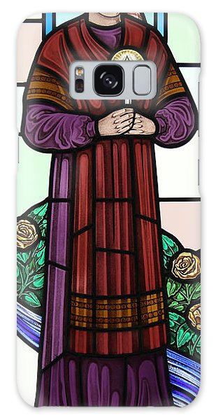Saint Bernadette  Galaxy Case by Gilroy Stained Glass
