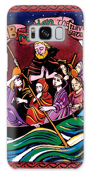 St. Brendan The Navigator - Mmbre Galaxy Case