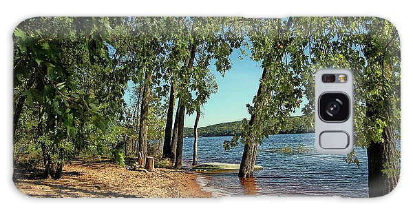 St Croix River Shoreline Galaxy Case