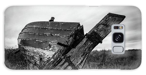 St Cyrus Wreck Galaxy Case by Dave Bowman