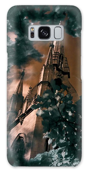 St Dunstan In The East Tower Galaxy Case