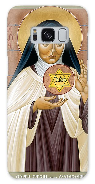 St. Edith Stein Of Auschwitz - Rleds Galaxy Case