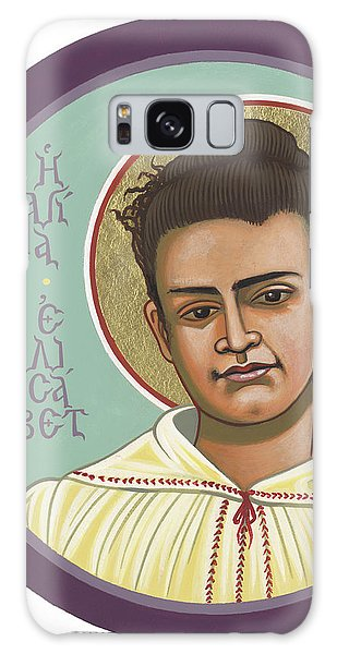 Galaxy Case featuring the painting St Elizabeth Of The Trinity- 295 by William Hart McNichols