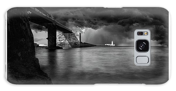 St. Elmo Breakwater Footbridge Galaxy Case