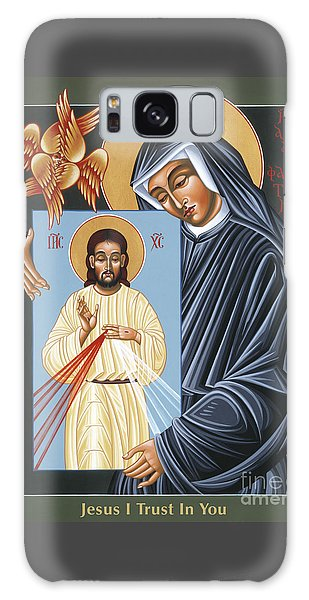 St Faustina Kowalska Apostle Of Divine Mercy 094 Galaxy Case