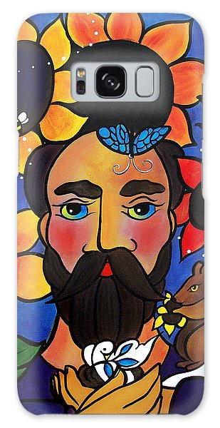 St. Francis - All Creatures Great And Small Galaxy Case