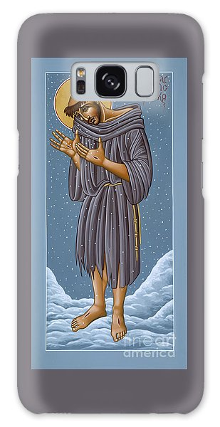 St Francis Wounded Winter Light 098 Galaxy Case