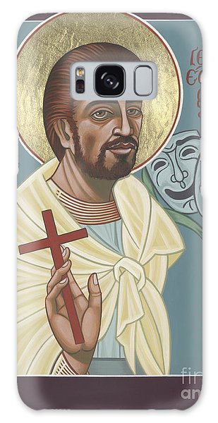 Galaxy Case featuring the painting St Genisius Patron Of Actors 279 by William Hart McNichols