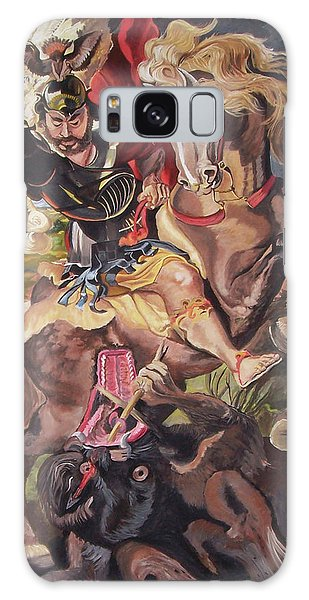 St George And The Dragon Galaxy Case