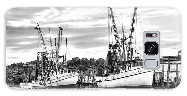 St. Helena Shrimp Boats Galaxy Case