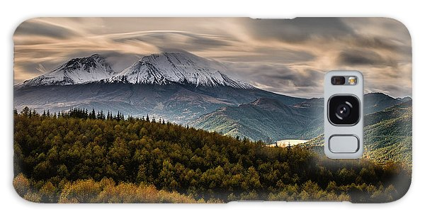 Galaxy Case featuring the photograph St. Helens Wrath by Dan Mihai